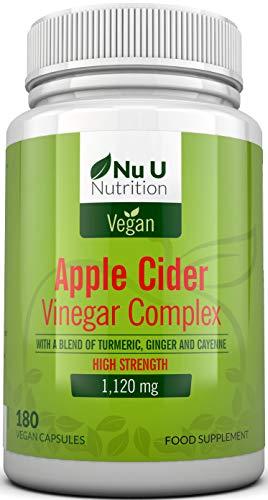 Apple Cider Vinegar - 180 Vegan Capsules not Tablets or...