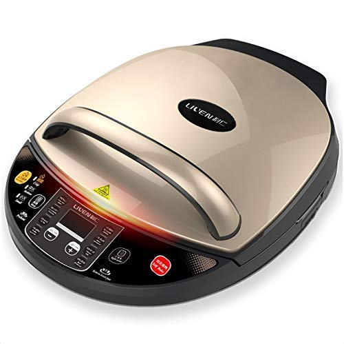 Liven Electric Skillet Baking Pan LR-D3020A, Digital Display with only detachatable Down Plate, 1400W,30CM