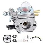 Fdit Kit de carburador de Aluminio para Cortasetos Accesorio de Repuesto para carburador de Cortasetos para Echo HC1500 12520005962 para Zama C1U-K51