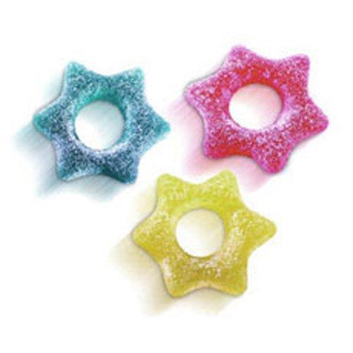 Stelle Frizzanti Gelco g 500 - Caramelle gommose colorate frizzanti a forma di stella