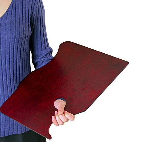 GZPANDA Square Wooden Paint Palette Paint Tray, Oil Paint...