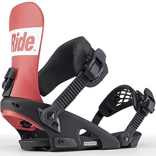 Ride Rodeo Snowboard-Bindings für Herren, Herren, rot, Medium
