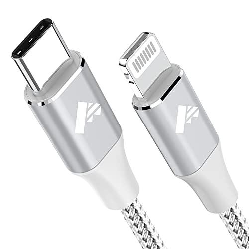 Cavo USB C a Lightning 1.8M Ricarica Caricabatterie iPhone Certificato MFi Cavo iPhone Tipo C, Carica Rapida Caricatore per iPhone 12 PRO Max Mini 11 SE 2020 X/XS Max/XR/8/7/6s/6 Plus 5/5s/5c/iPad