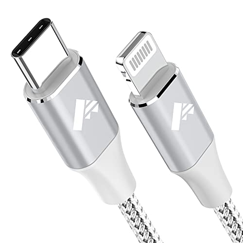 Cavo USB C a Lightning 1.8M Ricarica Caricabatterie iPhone Certificato MFi Cavo iPhone Tipo C, Carica Rapida Caricatore per iPhone 13 12 PRO Max Mini 11 SE 2020 X/XS Max/XR/8/7/6s/6 Plus 5/5s/5c/iPad