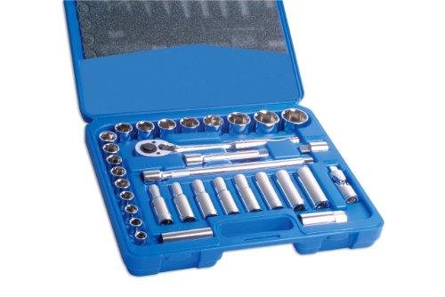 Laser 3284 Jeu de clés à Douille 1/2\