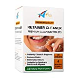 Denture Cleaning Tablets - 120 Tablets - 4 Months Supply. Cleans & Refreshes All Types of Dentures, Dental Mouthguards & Gumshields.
