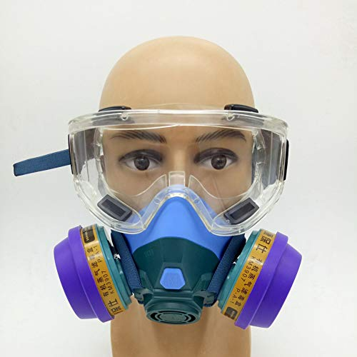 Professioneel Chemisch Allesomvattend Masker, Met gasbril, speciaal voor bescherming van de openbare veiligheid