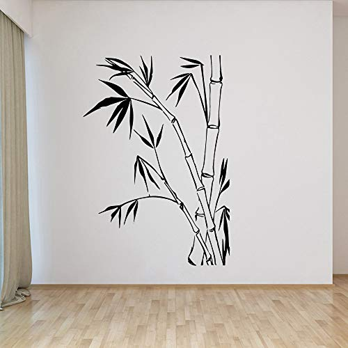 mlpnko Exquisite Bambus Umwelt Vinyl Aufkleber Moderne Wanddekoration für Kinderzimmer Heimdekoration,CJX10678-39x56cm