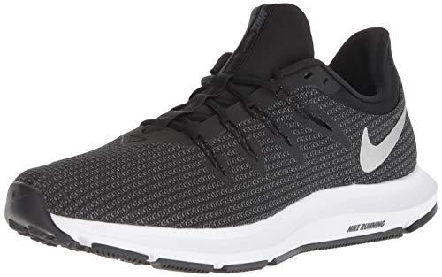 Nike WMNS Quest, Chaussures de Running Femme, Multicolore (Black/Metallic Silver-Dark Grey 001), 38.5 EU