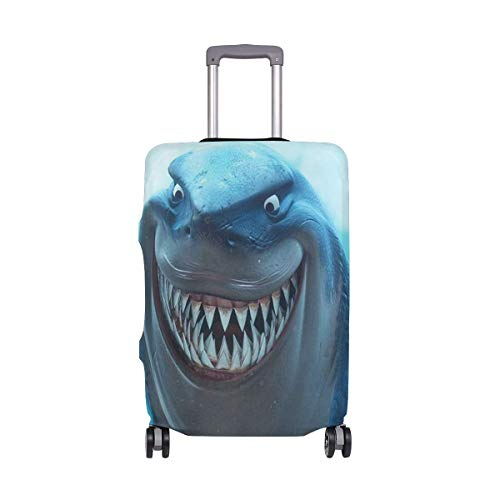 Finding Nemo Shark Undersea Travel Luggage Cover Suitcase Protector Washable Baggage Covers