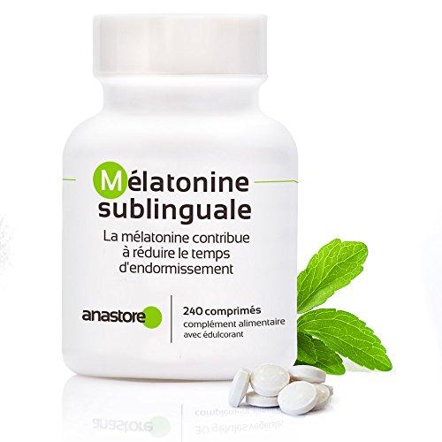 MÉLATONINE SUBLINGUALE * Pureté garantie supérieure à 99% *1.8 mg / 120 doses* STÉVIA (saveur citron)* Régulateur de l'horloge interne * Trouble du sommeil * Pureté garantie et contrôlée par des laboratoires indépendants * Fabriqué en France