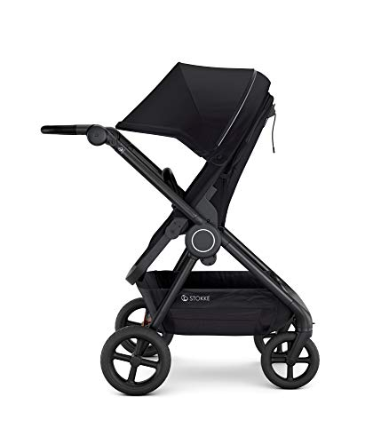 Photo de poussette-compacte-beat-noire-stokke
