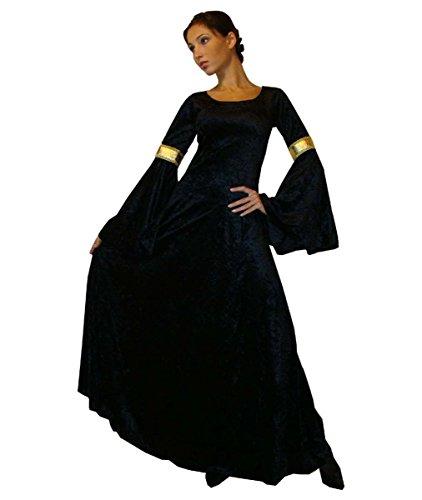 Maylynn 10923 - Costume médiéval/elfique - Noir - S