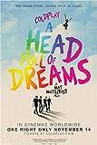 WYMADAL Rompecabezas 1000 Piezas Coldplay A Head Full of Dreams Película Música Póster Educativo Juguete para Aliviar El Estrés Juego Intelectual para Adultos Niños W044K