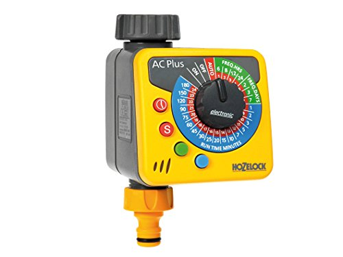 Hozelock HOZ2700 Automatic Water Computer Timer Plus - Yellow and Grey