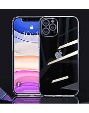 Transparante siliconen hoes case compatibel met iPhone 11