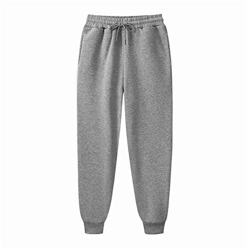 Pantalones Deportivos En Blanco para Fitness para Hombres Pantalones Deportivos Cepillados En Color Puro para Hombres Pantalones Deportivos