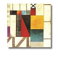 幾何学的な図キャンバス絵画書道壁の写真リビングルームの寝室の大理石のアートプリントトレンディな壁の装飾30x30cm(12x12in)内枠