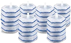 TOILET BOWL CLEANER: Clean and disinfect with Clorox ToiletWand refills that kill 99.9% of bacteria and viruses while leaving your toilet sparkling clean DISPOSABLE SPONGES: These toilet scrub pad refill heads click onto the ToiletWand to swish, scru...