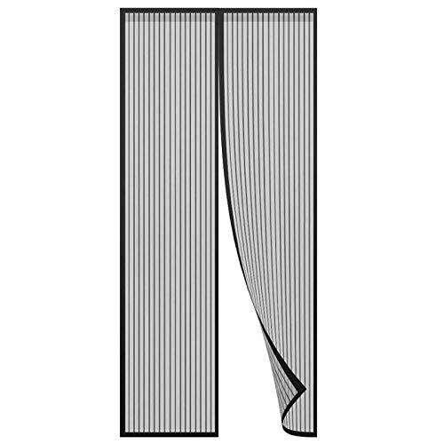 Mosquitera Magnética para Puertas Puerta De Pantalla Magnética alejado de los mosquitos Las cortinas de malla son adecuadas para la puerta del balcón deslizante del balcón de la sala de estar