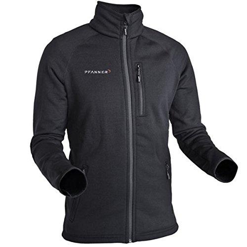 Pfanner warme Polartec® Fleecejacke 102056, Farbe:schwarz, Größe:M