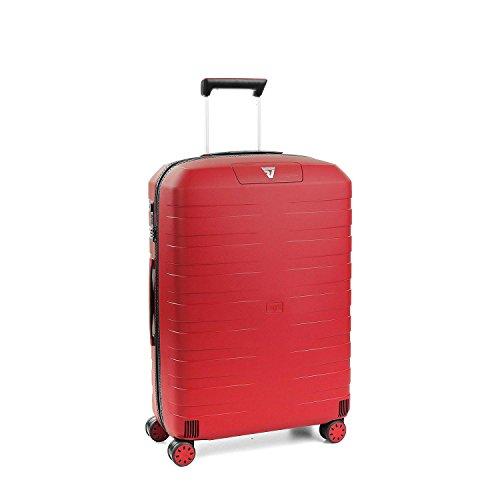 Roncato Trolley Medio M Rigido Box 2.0 - cm. 69x46x26 L 80 Ultra-leggero Organizer Interno Chiusura...