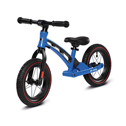 MicroClean Micro Balance Bike Deluxe Bicicleta de Paseo, Neg