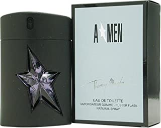 Angel By Thierry Mugler For Men. Eau De Toilette Spray Rubber Bottle 1.7 Ounces