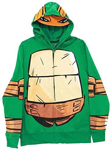 Teenage Mutant Ninja Turtles Costume Men Hoodie (XXL)