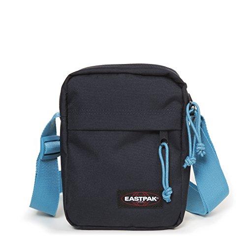 Eastpak The One Umhängetasche, 21 cm, 2.5 L, Blau (Navy-Aqua)
