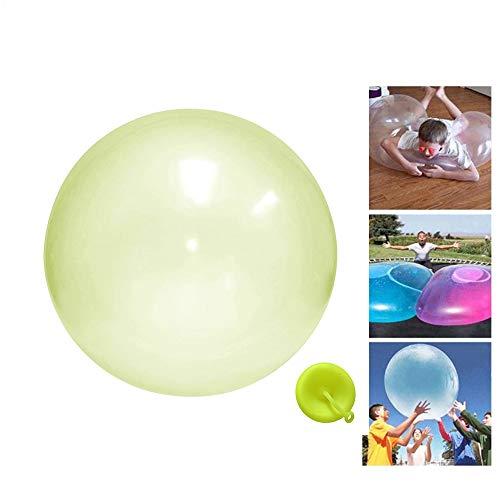Pole shop 2 Stück-GELB-50cm Jelly Balloon Ball, wassergefüllte interaktive Gummi Big Water Wubble Bumper Bubble Ball Spielzeug für Erwachsene Kinder Sommer lustige Geschenke