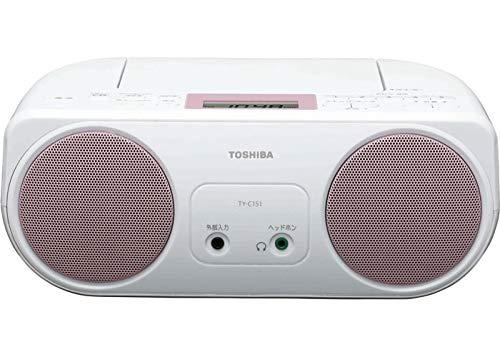 東芝 CDラジオ TY-C151(P)