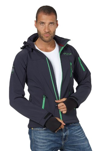 Fifty Five Herren Softshell Jacke...