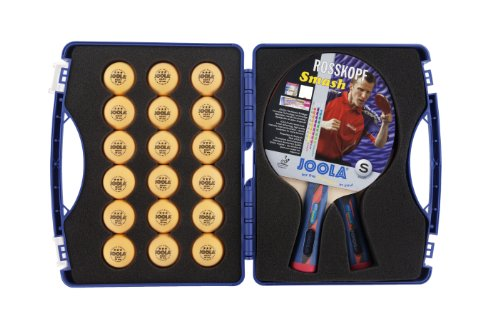 Buy Cheap JOOLA Tour Expert Carrying Case - Ping Pong Paddle Set Includes 2 ITTF APPROVED Rossi Smas...