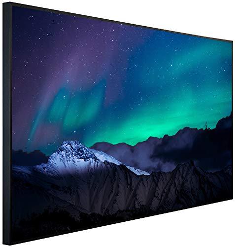 Ecowelle Infrarotheizung mit Bild | 900 Watt | 120x74x3cm | Infrarot Heizung| | Made in Germany | d 132 Norderlicht