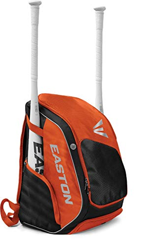 EASTON ELITE X Bat & Equipment Backpack Bag, Orange