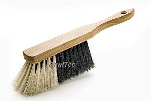 BawiTec Profi Handfeger Handbesen 28cm Kunsthaar Haarmischung weich