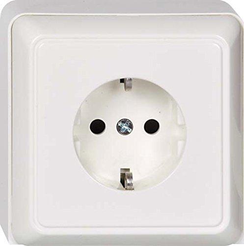 Elso, 505300, Dispositivi di inserimento presa di supporto del terminale tappo di protezione del bambino REN, bianco perla