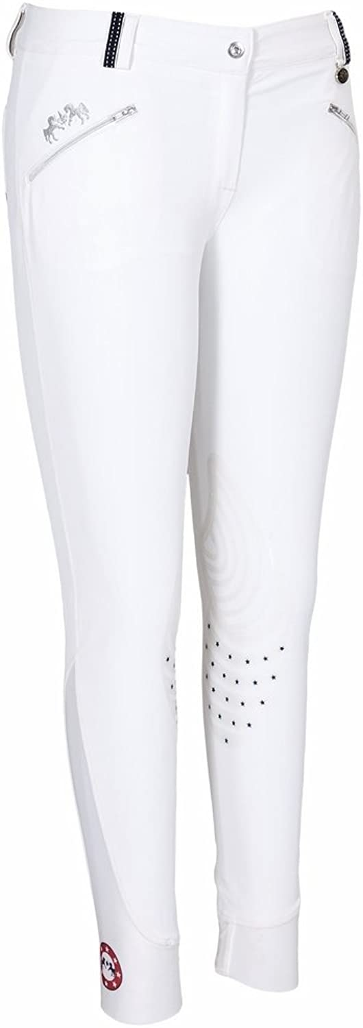 Equine Couture Ladies Super Star Knee Patch Breech