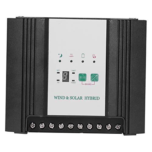 Controlador de energía solar eólica, controlador solar eólico inteligente y conveniente, caja fuerte estable y confiable para controlador de energía eólica Controlador de energía solar