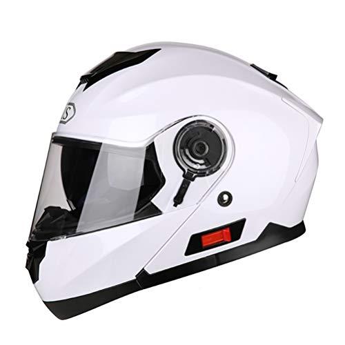 Modular Dual Visier Motorradhelme Winter Flip Up Motorradhelme Motorrad Roller Moto Helme