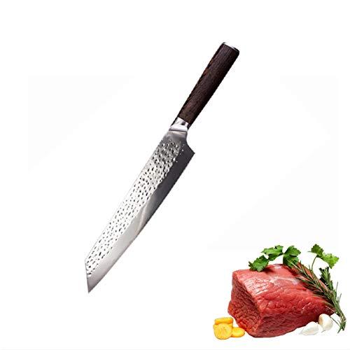 Cuchillo de cocina de 8 pulgadas Profesional Chef japonés Cuchillos de acero inoxidable Alto Cuchillo de carne de carne de carne Cuchillo para cocinar juego de cuchillos de cuchillo (Color : MD 55)