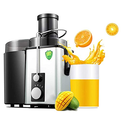 Juicer, Stainless Steel Automatic Juicer, Household Multi-Function Electric Slag-Free Juice Machine – Two Speed Control, Low Noise, 350w (Color : C)
