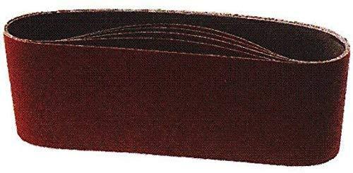 Scheppach 88000211 Zubehör Schleifgerät/Schleifbandset, passend für den Band-und Tellerschleifer BTS800, Körnung 80, 914 x 100 mm