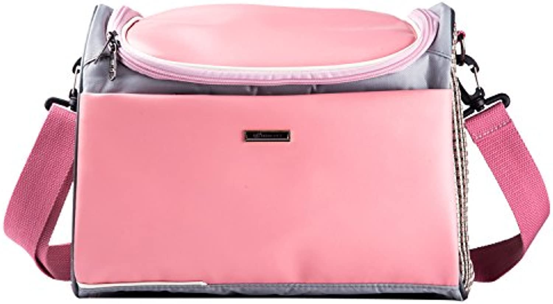 Go Out Portable Pet Package Backpack Cat Pack Dog Pack Breathable Shoulder Handbag,Pink,342026Cm
