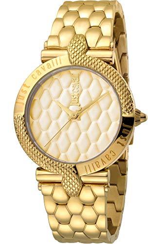 Reloj Just Cavalli Carattere JC1L047M0065 - Analógico Cuarzo para Mujer en Acero Inoxidable Chapado