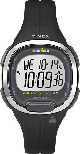 Timex Damen Digital Uhr mit Harz Armband TW5M19600