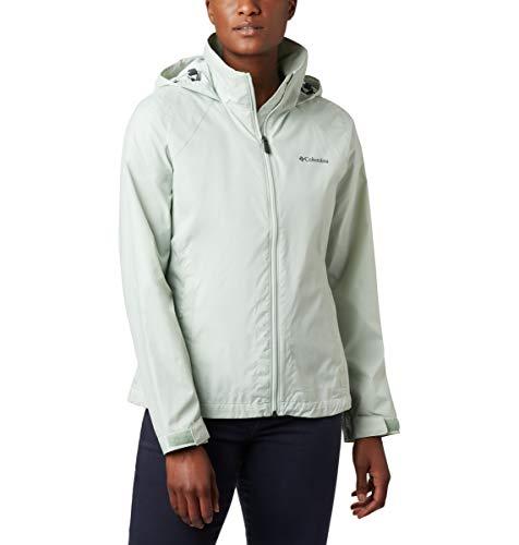 Columbia Switchback III Jacket Chaqueta entallada, Color verde, XXL para Mujer