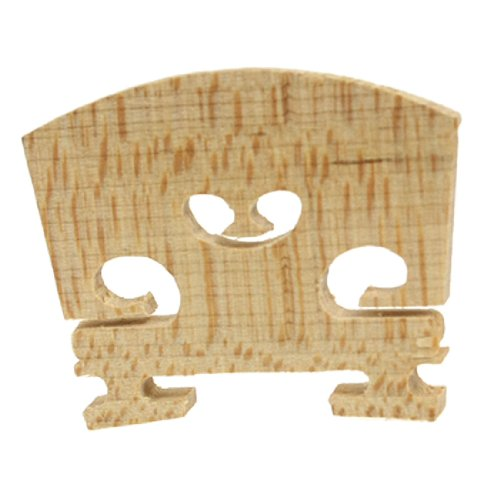 uxcell Replacement 1/4 Size Violin Parts String Centre Wooden Bridge