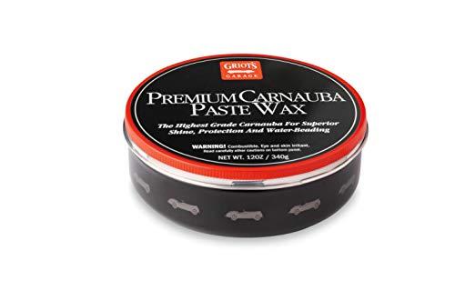 Griots Garage Premium Carnauba Paste Wax
